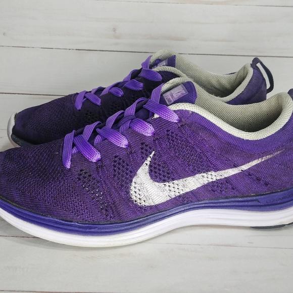 pretty cool the best attitude discount sale Purple Nike Flyknit Lunar